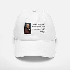 Benjamin Franklin 8 Baseball Baseball Cap