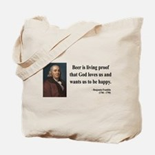 Benjamin Franklin 8 Tote Bag