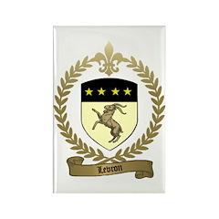 LEVRON Family Crest Rectangle Magnet (10 pack)