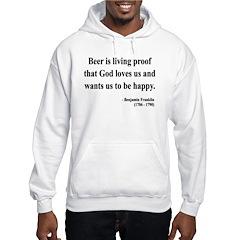 Benjamin Franklin 8 Hooded Sweatshirt