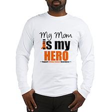KidneyCancerHero Mom Long Sleeve T-Shirt