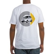 What's Your Color? Fitted White Smart Car T-Shirt