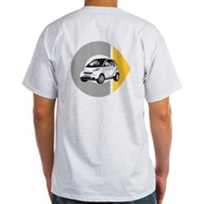 What's Your Color? Light White Smart Car T-Shirt