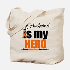 KidneyCancerHero Husband Tote Bag