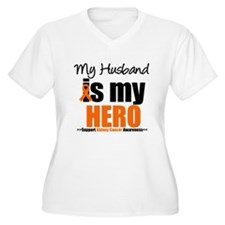 KidneyCancerHero Husband T-Shirt