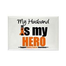 KidneyCancerHero Husband Rectangle Magnet
