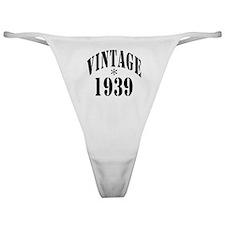 1939 Classic Thong