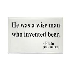 Plato 24 Rectangle Magnet (10 pack)