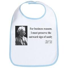 Mark Twain 26 Bib