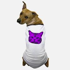 Purple Kitty Cat Dog T-Shirt