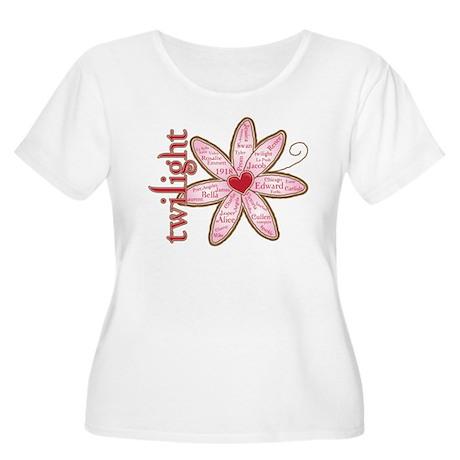 TwilightFlower2 Plus Size T-Shirt