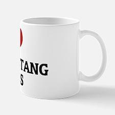 I Love Kiger Mustang Horses Mug