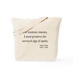 Mark Twain 26 Tote Bag