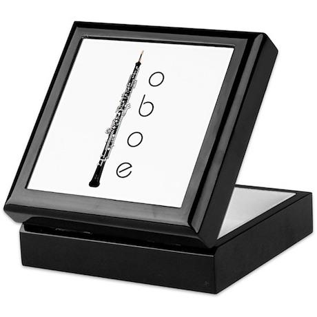 Oboe Oboeist Keepsake Box
