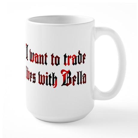 Trade Lives with Bella Large Mug
