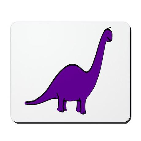 Cute Purple Dinosaur Mousepad
