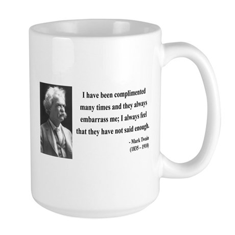 Mark Twain 12 Large Mug