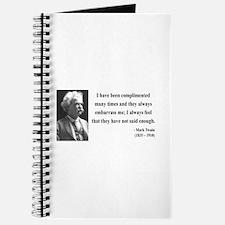 Mark Twain 12 Journal
