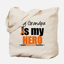 KidneyCancerHero Grandpa Tote Bag