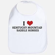 I Love Kentucky Mountain Sadd Bib