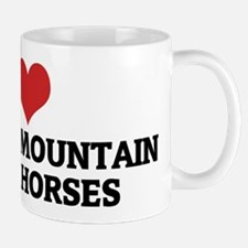 I Love Kentucky Mountain Sadd Small Small Mug