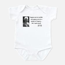 Mark Twain 15 Infant Bodysuit