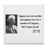 Mark twain congress Drink Coasters