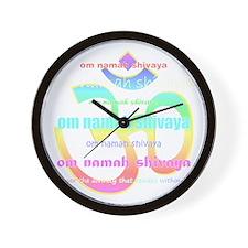 Cute Pilates black Wall Clock