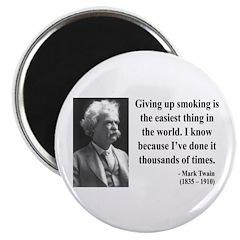 Mark Twain 28 Magnet