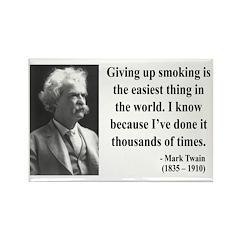Mark Twain 28 Rectangle Magnet (100 pack)