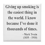 Mark Twain 28 Tile Coaster