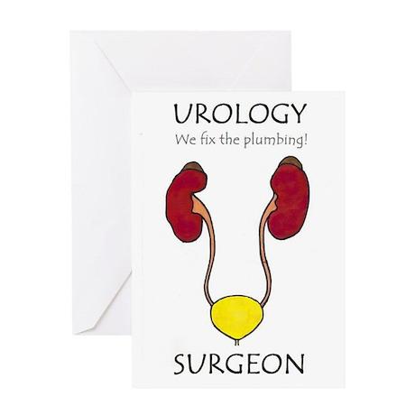Urology MD Greeting Card