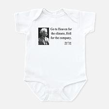 Mark Twain 29 Infant Bodysuit
