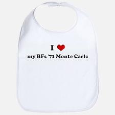 I Love my BFs '71 Monte Carlo Bib