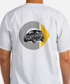 What's Your Color? Light Gray Smart Car T-Shirt