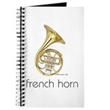French horn Journals & Spiral Notebooks