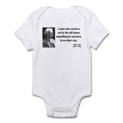 Mark Twain 34 Infant Bodysuit