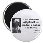 Mark Twain 34 Magnet