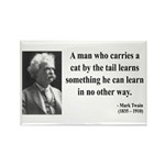 Mark Twain 34 Rectangle Magnet (10 pack)