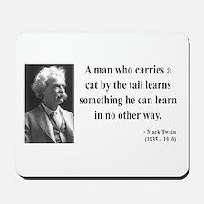 Mark Twain 34 Mousepad