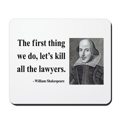 Shakespeare 14 Mousepad