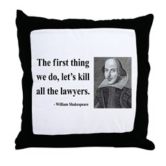 Shakespeare 14 Throw Pillow