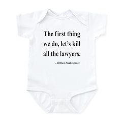 Shakespeare 14 Infant Bodysuit