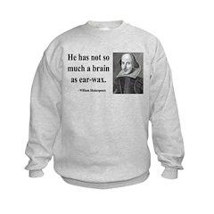 Shakespeare 25 Sweatshirt