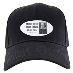 Shakespeare 25 Baseball Hat