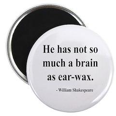 Shakespeare 25 Magnet