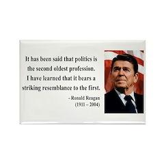 Ronald Reagan 8 Rectangle Magnet