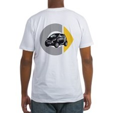 What's Your Color? Fitted Black Smart Car T-Shirt