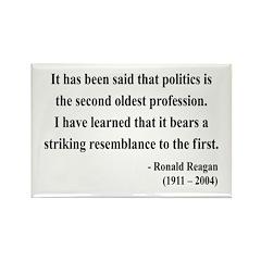 Ronald Reagan 8 Rectangle Magnet (10 pack)