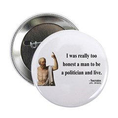 "Socrates 11 2.25"" Button (100 pack)"